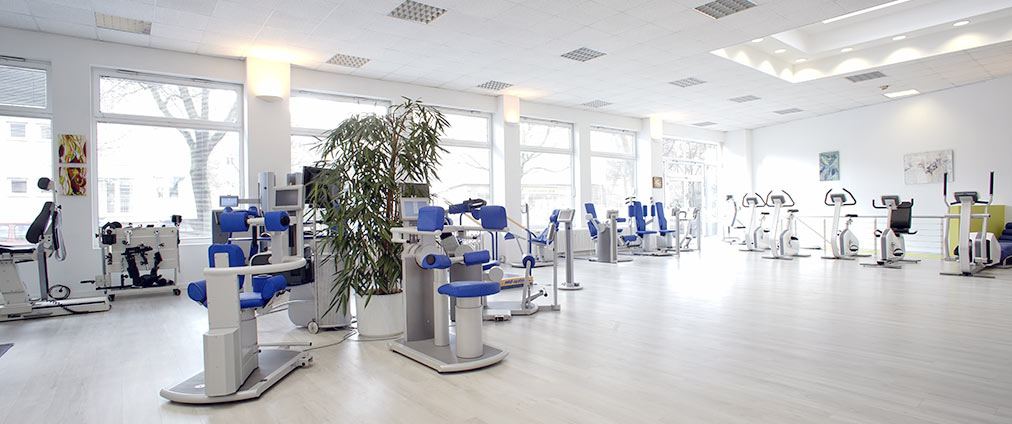 Physio Top REHA Zentrum Berlin - Trainingsräume
